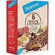 Barritas con sabor a chocolate con leche con 6 semillas y cereales estuche 5 unidades estuche 5 unidades Bicentury