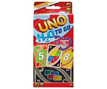 UNO Juego de cartas de viaje, de 2 a 7 jugadores Uno h2o to go UNO