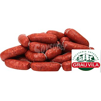 Grau Chorizo casero fresco  100 g (peso aproximado pieza)
