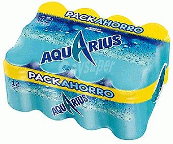 Aquarius Bebida isotónica sabor limón Pack 12x33 cl