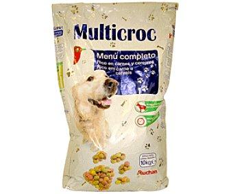 Auchan Comida Seca para Perro: Multicroquetas Saco de 15 Kilogramos