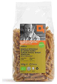 GIROLOMONI Pasta Fusilli Integral Eco 500 gr
