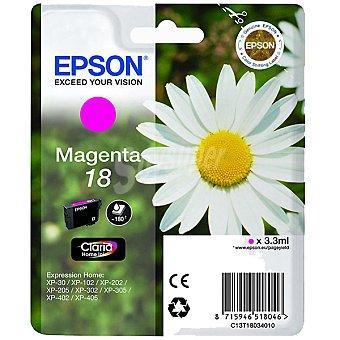 Epson Nº 18 cartucho de tinta color magenta