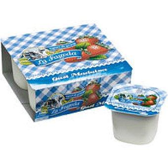 La Fageda Yogur Maduixa Pack 4x125 g