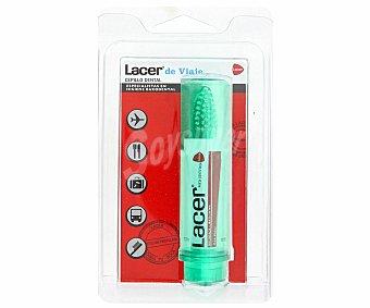 LACER Kit bolsa de viaje , cepillo dental y pasta de muestra 1 Unidad