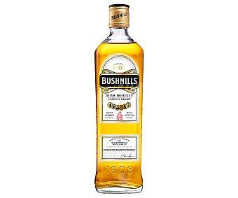 Bushmills Whisky blended Irlandes, con triple destilación botella de 70 cl