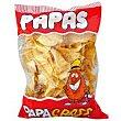 Patatas fritas artesanas Bolsa de 180 gramos papa Crass