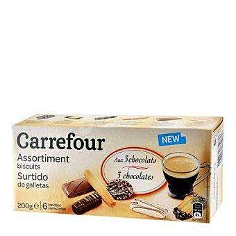 Carrefour Surtido de galletas 6 variedades 200 g