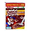 Cereales de arroz inflado de chocolate Caja 375 g  Kellogg's choco krispies