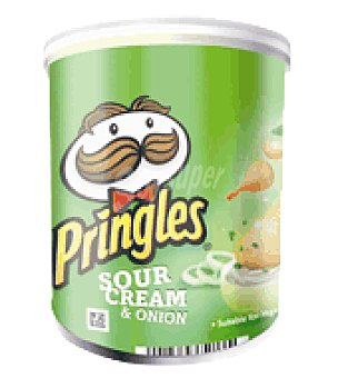 Pringles Patata scream & onion 40G