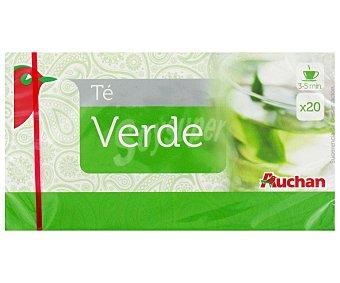 Auchan Té verde 20 uds