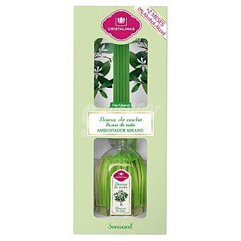 Cristalinas Mikado Ambientador en varillas aromaticas Dama de noche 45 ml 45 ml