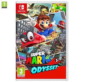 NINTENDO Super Mario Odyssey Switch Videojuego Super Mario Odyssey para Nintendo Switch. Género: Plataforma. PEGI:+3