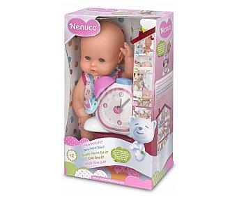Nenuco Muñeco interactivo Nenuco ¿qué hora es?, marca la actividad a través del reloj 1 unidad