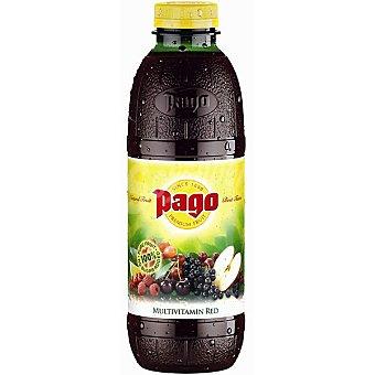 Pago Zumo 100% concentrado de multifrutos rojos Botella 75 cl