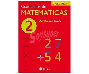Bruño Cuaderno de actividades de matemáticas 2, sumas con llevada. Género: actividades, infantil, vacaciones. Editorial Bruño. Descuento ya incluido en PVP. PVP anterior: