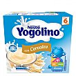 Postre lácteo con cereales desde 6 meses Pack de 4 unidades de 100 g Yogolino Nestlé