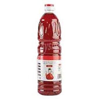 Eroski Basic Vinagre rojo Botella 1 litro