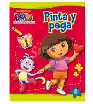 DORA LA EXPLORADORA Pinta y pega (n. Beascoa)