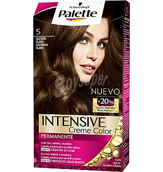 Palette Schwarzkopf Intense color cream 5 cast. claro 1 UNI