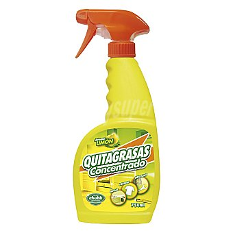 Chubb Quitagrasas Biogras spray concentrado limón 750 ml