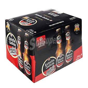 Estrella Galicia Cerveza especial mini caja Pack 20x20 cl