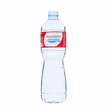 Aguadoy Agua mineral natural (mineralizacion debil) Botella 1 l