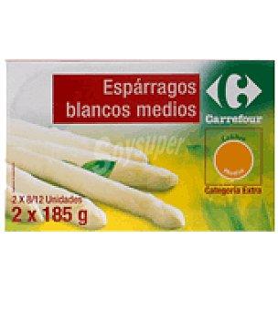 Carrefour Espárrago blanco Pack 2x125 g