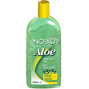 NO-AD After sun gel Aloe para después del sol calmante y refrescante Frasco 500 ml