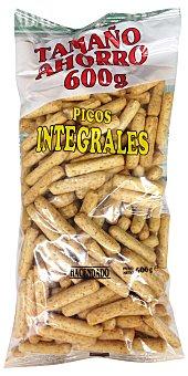 HACENDADO Picos integrales Paquete 600 g