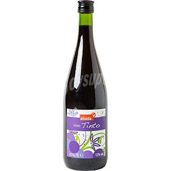 VIÑAS ALTAS Vino tinto común elaborado para grupo El Corte Inglés Botella 1 l