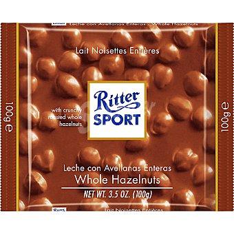 Ritter Sport Leche con avellanas enteras Tableta 100 g