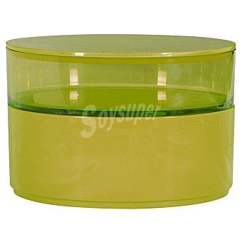 QUO Caja organizadora con 2 compartimentos en color verde