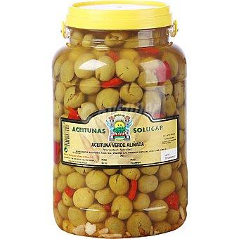 Solucar aceitunas verdial aliñadas neto escurrid envase 1,8 kg