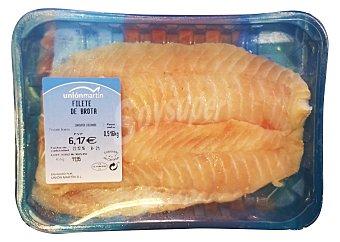 UNION MARTIN Brota fresca filete Bandeja de 550 g peso aprox.