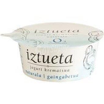 Iztueta Yogur cremoso natural desnatado Tarrina 125 g