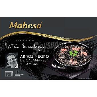 Martin Berasategui Arroz negro de calamares y gambas Estuche 350 g