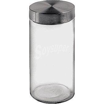 UNIT Tarro de vidrio con tapa de acero 17 l