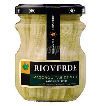 Rioverde Mazorquitas de maíz Frasco 100 g neto escurrido