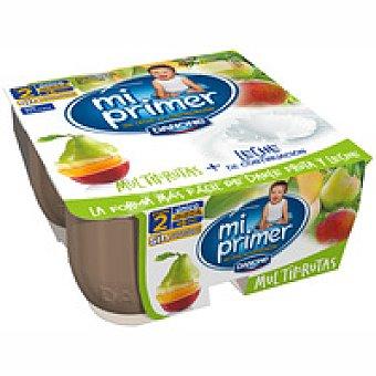 Danone Frutalia multifrutas Pack 4x100 g