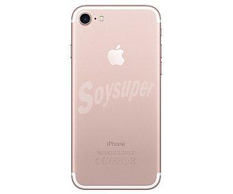 """iOS Smartphone libre iphone 7 Oro rosa, procesador: A10, almacenamiento: 128GB, pantalla: 4.7"""" 1334 x 750px, cámara: 12 Mpx, conectividad , sensor de huella dactilar, 10 4G"""