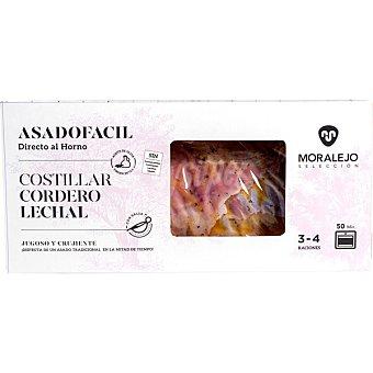 Moralejo seleccion Asado fácil costillar de cordero lechal con salsa pieza 1,2 kg