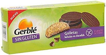 Gerblé Galletas bañadas en chocolate Caja 105 gr