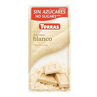 Torras Chocolate blanco sin azúcar - Sin Gluten 75 g