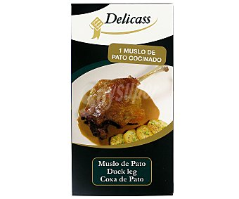 Delicass Muslo de Pato Cocinado Lata de 380 Gramos