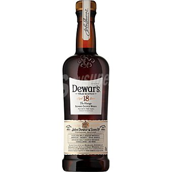 Dewar's Whisky escocés reserva 18 años Botella 70 cl