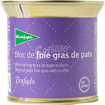 El Corte Inglés Bloc foie gras de pato trufado lata 200 g Lata 200 g