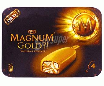 MAGNUM de FRIGO Helado Gold 4x110ml