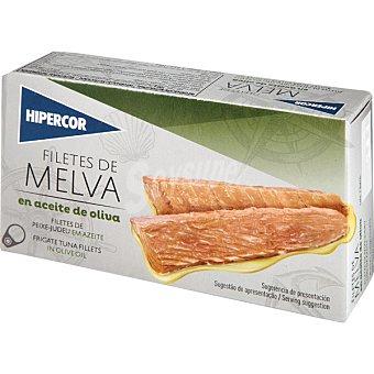 Hipercor Filetes de melva en aceite de oliva Lata 85 g neto escurrido