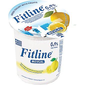 Mevgal Yogur griego con trozos de limón tarrina 500 g